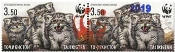 n° 555A - Timbre TADJIKISTAN Poste