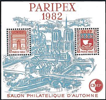 n° 3b - Timbre France CNEP (Epreuve de luxe)