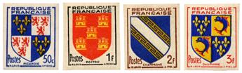 n°951/954** ND - Timbre FRANCE Poste