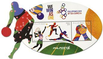n° 403 - Timbre PHILIPPINES Blocs et feuillets