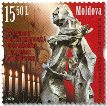 n° 987 - Timbre MOLDAVIE Poste