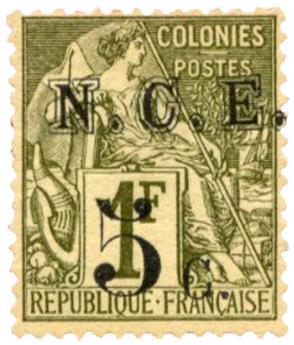 n°10(*) - Timbre NOUVELLE CALEDONIE Poste