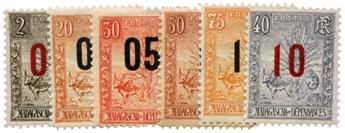 n°115/120** - Timbre MADAGASCAR Poste