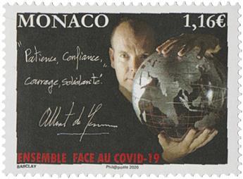 n° 3235 - Timbre Monaco Poste
