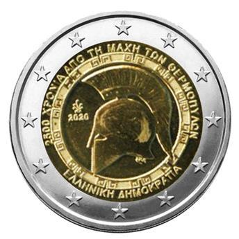 2 EURO COMMEMORATIVE 2020 : GRECE (2500 ans de la bataille des thermopyles)