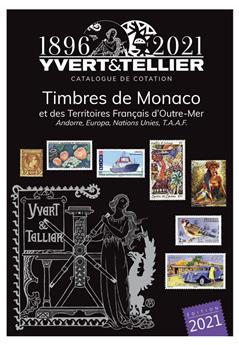 TOME 1BIS - 2021 (Catalogue des Timbres de Monaco et des TOM)