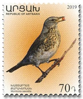 n° 170/173 - Timbre ARMENIE (Haut-Karabakh) Poste