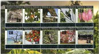 n° 1091/1100 + n° 1101/1110 - Timbre TRINITE  Poste