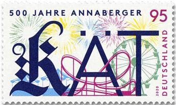 n° 3327 - Timbre ALLEMAGNE FEDERALE Poste