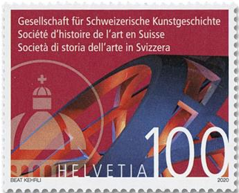 n° 2587 - Timbre SUISSE Poste