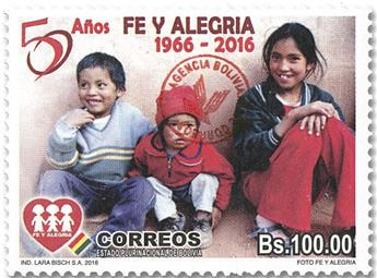 n° 1634 - Timbre BOLIVIE Poste