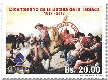 n° 1644 - Timbre BOLIVIE Poste