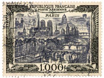 n°29 obl. - Timbre FRANCE Poste Aérienne