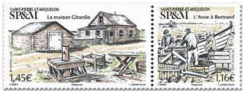 n° 1243/1244 - Timbre Saint-Pierre et Miquelon