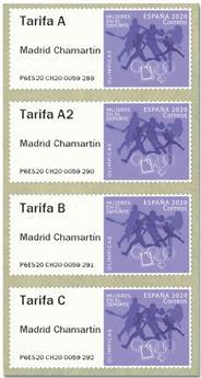 n° 163 - Timbre ESPAGNE Timbres de distributeurs