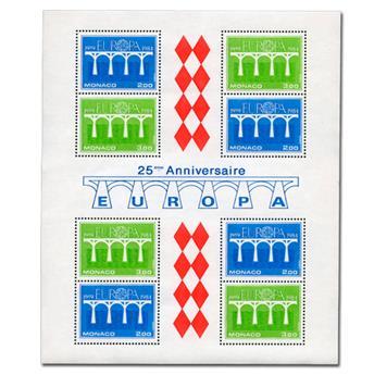 n° 28 -  Timbre Monaco Bloc et feuillets