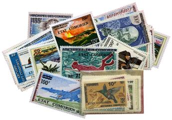 n°105/129** + PA n°68/94** - Timbre COMORES Poste