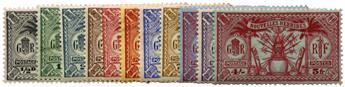 n°80/90* - Timbre NOUVELLES HEBRIDES Poste