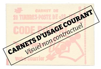 France : Carnet n°1331-C5** Brun-jaune