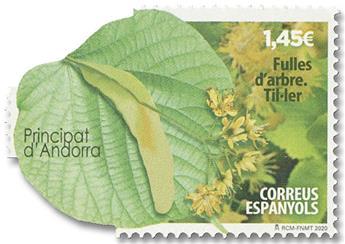 n° 488 - Timbre ANDORRE ESPAGNOL Poste
