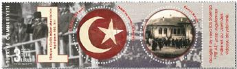 n° 4005 - Timbre TURQUIE Poste