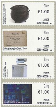 n° 127/130 - Timbre IRLANDE Timbres de distributeurs