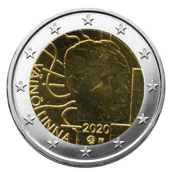 2 EURO COMMEMORATIVE 2020 : FINLANDE (100 ans de la naissance de Vàïnö Linna)