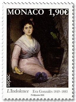 n° 3240 - Timbre Monaco Poste