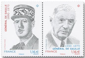 n° 5444/5445 - Timbre FRANCE Poste