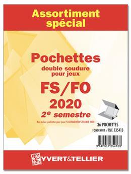 Assortiment de pochettes (double soudure) : 2020-2e semestre