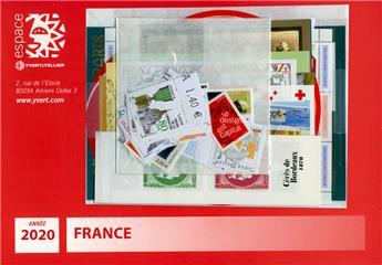 n° 5372/F5455  - Timbre France Année complète  (2020)
