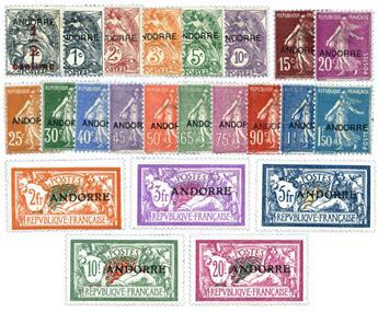 nr. 1/23 -  Stamp Andorra Mail