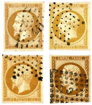 n°13A,a,b,c obl. TB - Timbre FRANCE Poste
