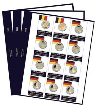 Recharges 2 EUROS commémoratifs 2020 - MARINI®