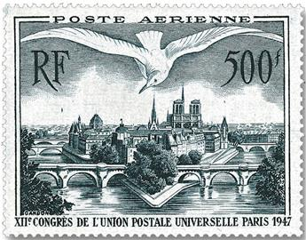 n° 20 -  Selo França Correio aéreo