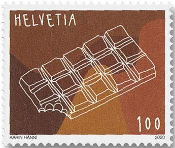 n° 2596/2597 - Timbre SUISSE Poste
