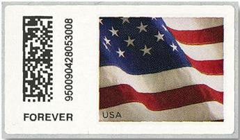 n° 14 - Timbre ETATS-UNIS D´AMERIQUE Timbres de distributeurs