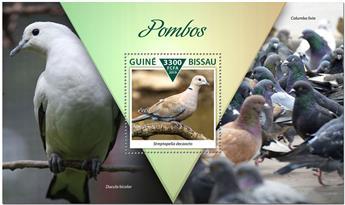 n° 1597 - Timbre GUINEE-BISSAU Blocs et feuillets