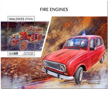 n° 1244 - Timbre MALDIVES Blocs et feuillets