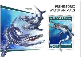 n° 1254 - Timbre MALDIVES Blocs et feuillets
