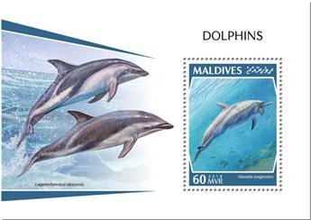 n° 1259 - Timbre MALDIVES Blocs et feuillets