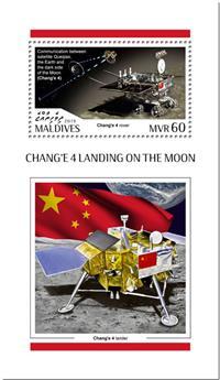 n° 1294 - Timbre MALDIVES Blocs et feuillets