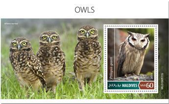 n° 1349 - Timbre MALDIVES Blocs et feuillets