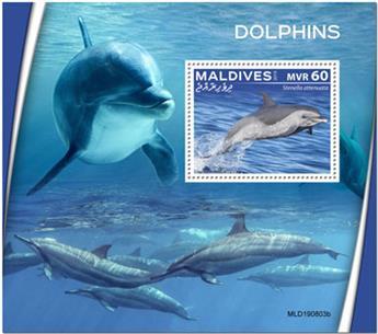 n° 1384 - Timbre MALDIVES Blocs et feuillets