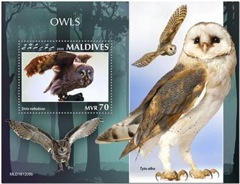 n° 1445 - Timbre MALDIVES Blocs et feuillets