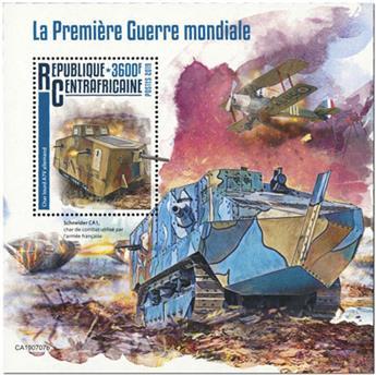 n° 1513 - Timbre CENTRAFRICAINE Blocs et feuillets