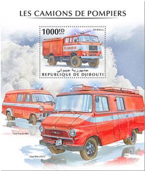 n° 471 - Timbre DJIBOUTI Blocs et feuillets