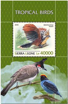 n° 1539 - Timbre SIERRA LEONE Blocs et feuillets
