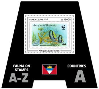 n° 1654 - Timbre SIERRA LEONE Blocs et feuillets
