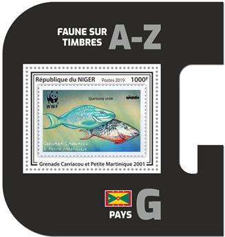 n° 1102 - Timbre NIGER Blocs et feuillets